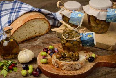 Olive Sott'olio - Melenzane Sott'olio - Azienda Agricola l'Uliveto